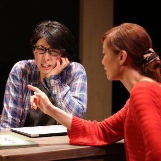 左:学生/沈ゆうこ 右:教員/鹿島ゆきこ